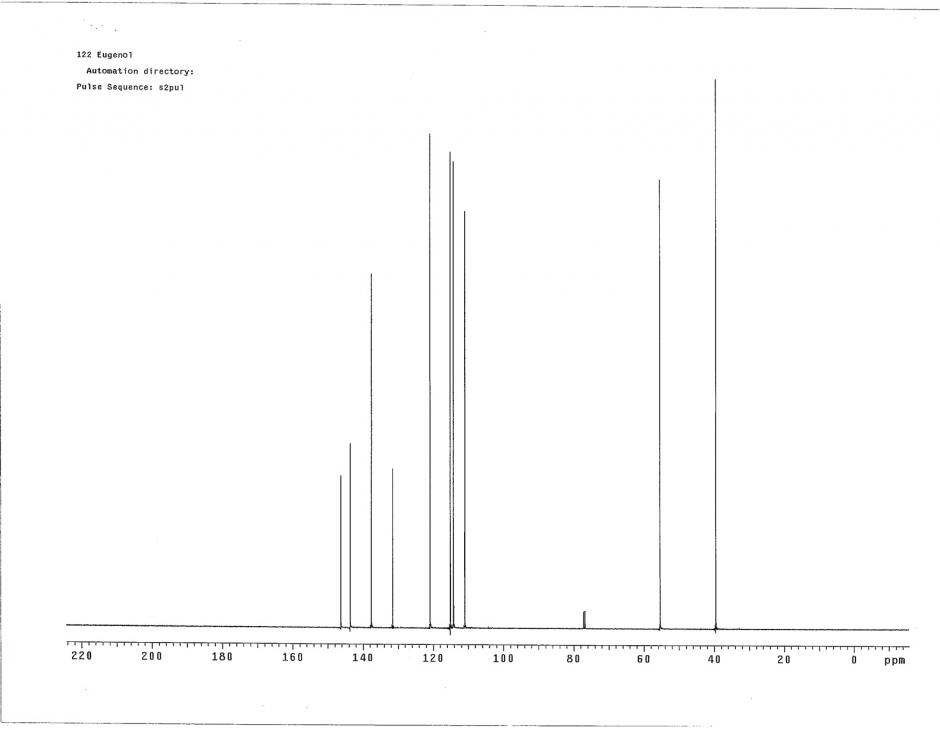 NMR Part 2 Solutions: #9
